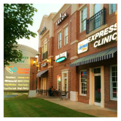 About Carolina Express Clinic off Park Rd. & Selwyn Ave in South Charlotte